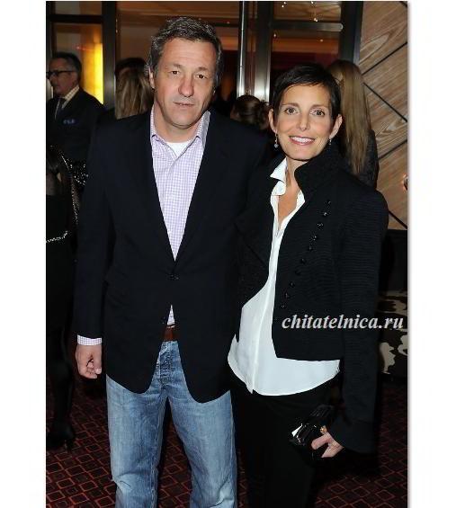 Морин Шике с мужем
